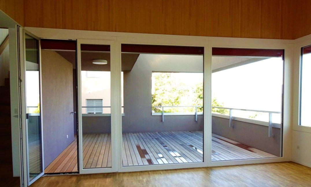 Duplex - Sala con terrazza abitabile (Media)