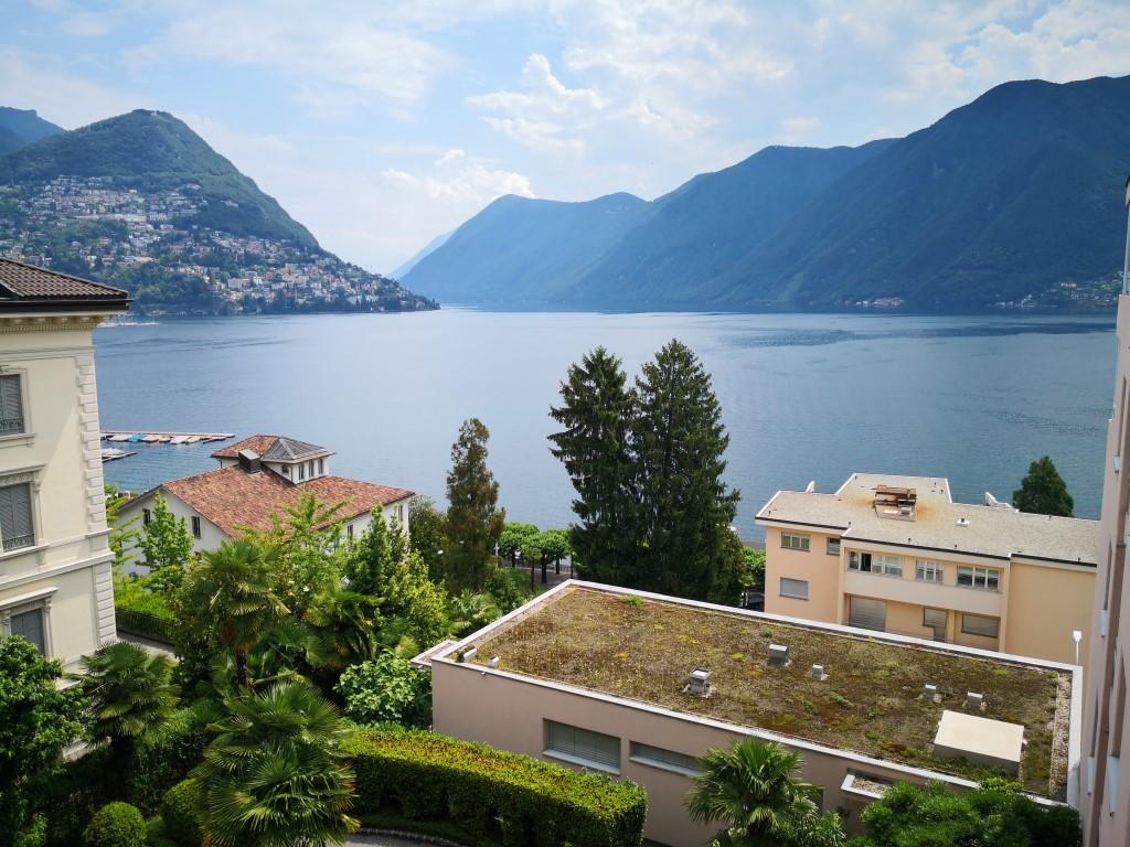 Affittasi a Lugano 3 1/2 locali ristrutturato con vista Lago ed a due passi dal LAC