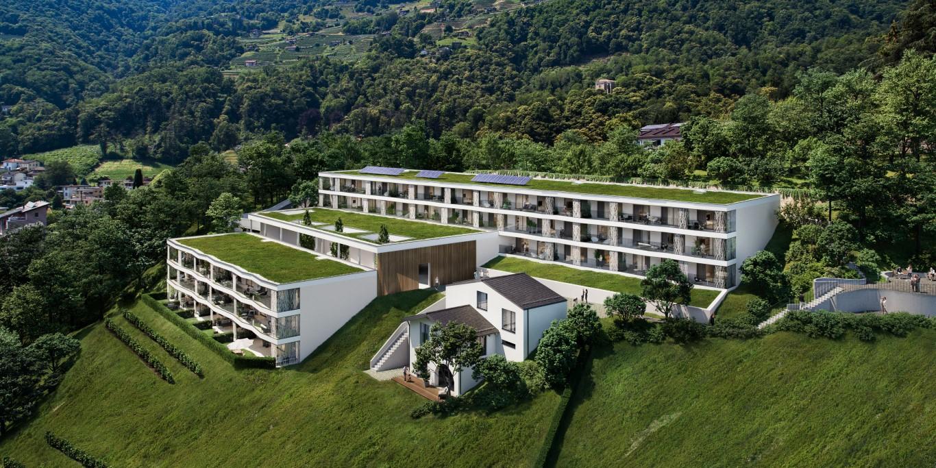 Vendesi appartamenti a Bioggio in nuova Residenza di prestigio
