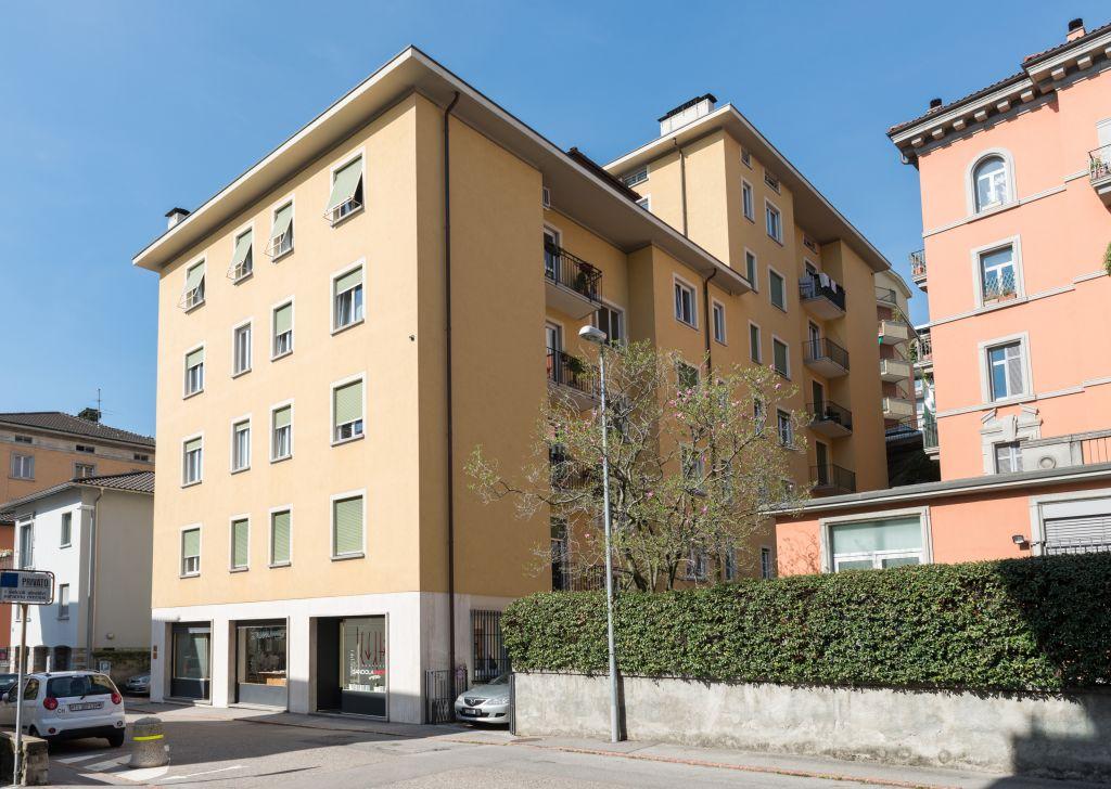 Affittasi appartamento mansardato in via Berna 15 – Lugano